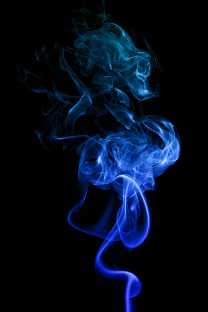 6 Unconventional Ways To Kick Open The Third Eye Smoke Art Blue Dragon Blue Wallpaper Iphone