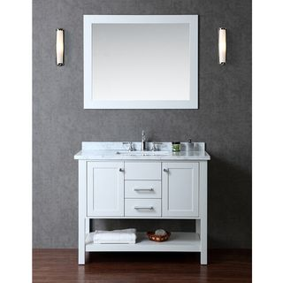 Nantucket 42 Inch Single Sink Bathroom Vanity Set | Overstock.com Shopping