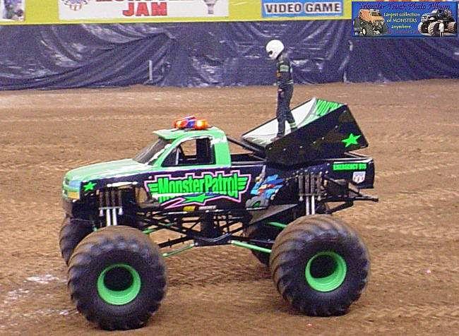Monster Patrol Monster Truck Pinterest Monster Trucks