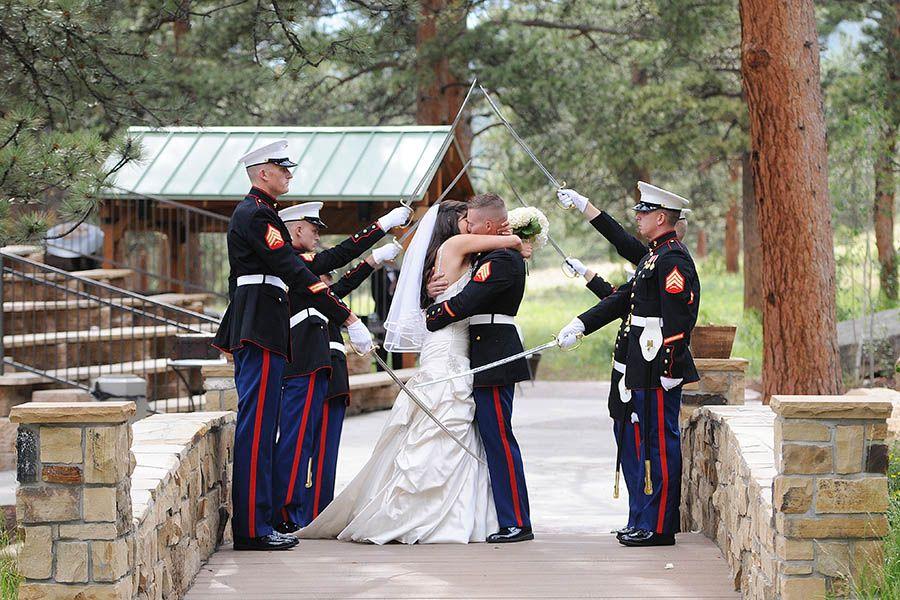 Marine military wedding at Della Terra, Estes Park, Colorado [Colorado Wedding Photography]