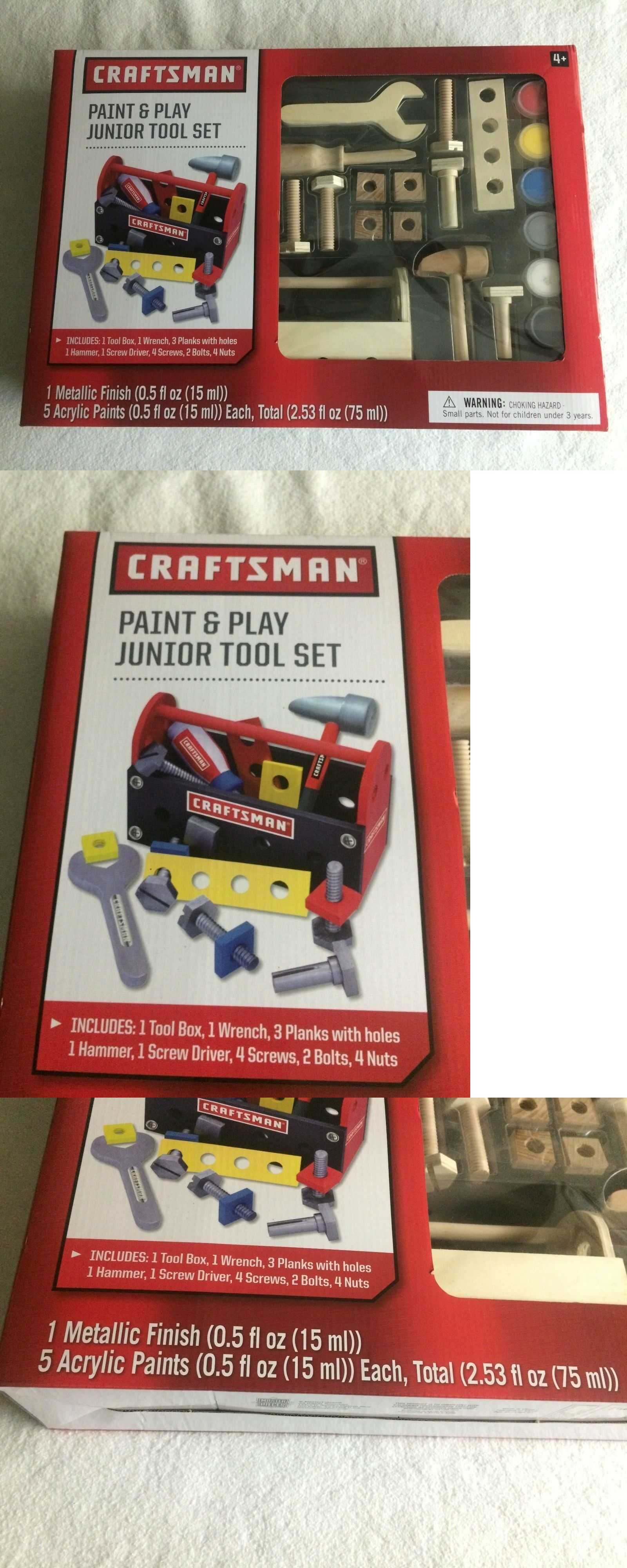 Sensational Tool Sets 158747 Craftsman Paint And Play Junior Kids Toys Machost Co Dining Chair Design Ideas Machostcouk