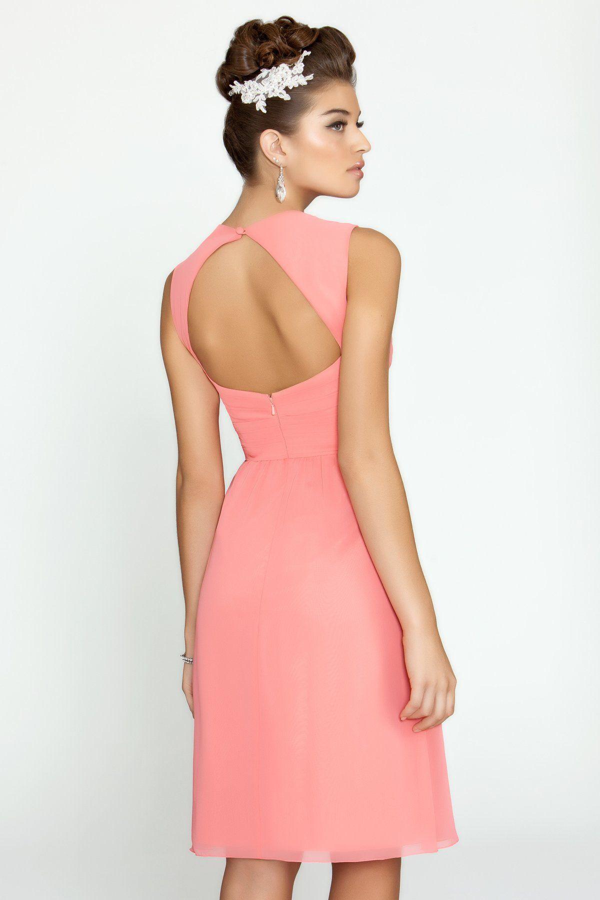 Alexia Designs style 148S: Bella chiffon bridesmaid dress with ...