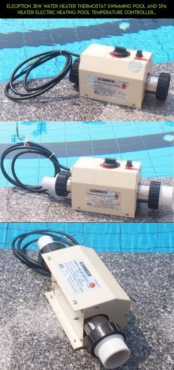 ELEOPTION 3KW Water Heater Thermostat Swimming Pool and SPA Heater ...