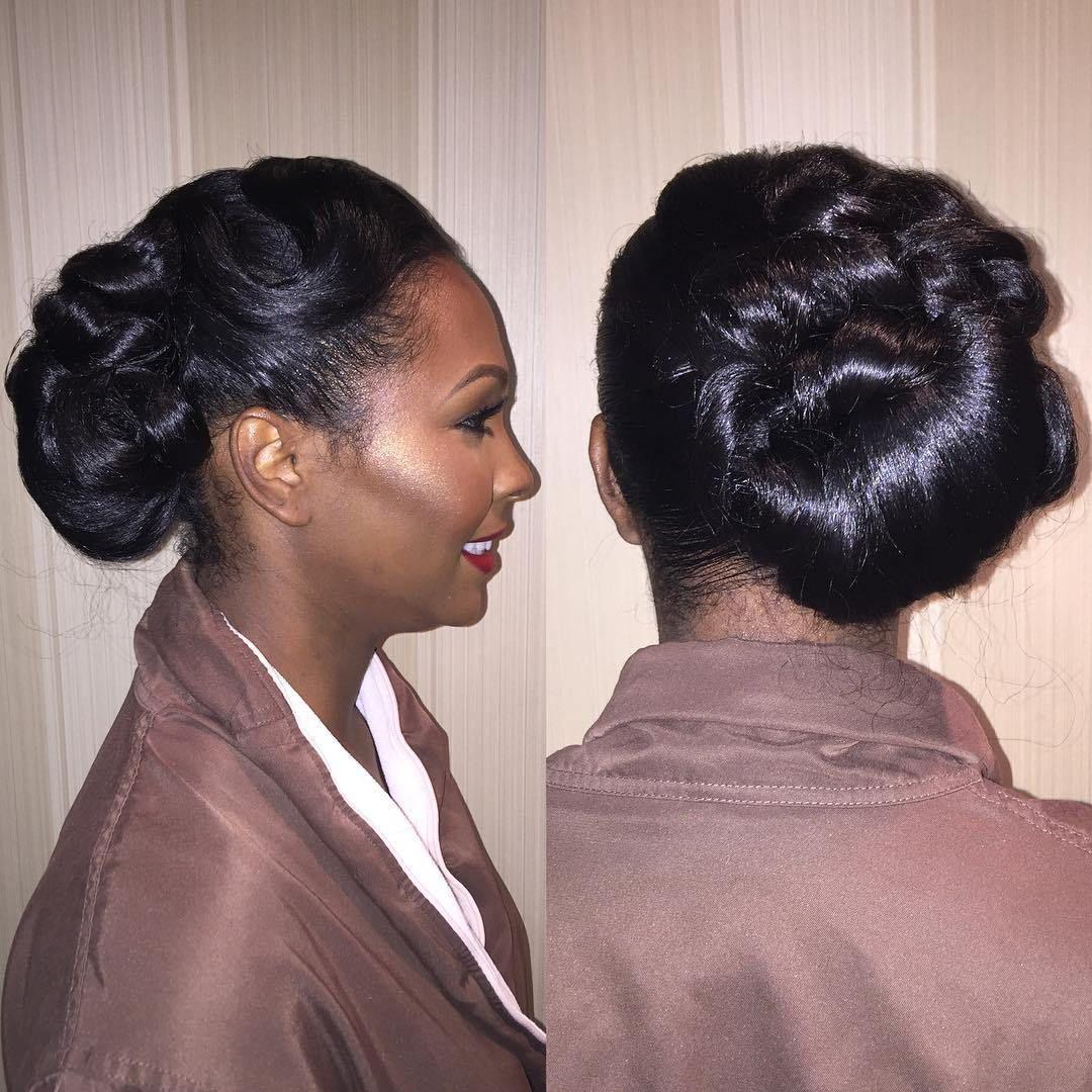 50 superb black wedding hairstyles in 2019 | wedding