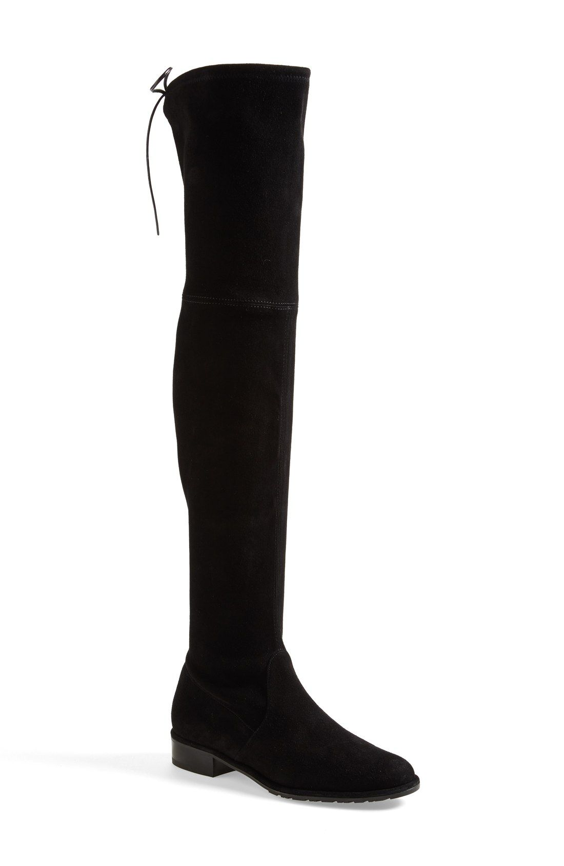 15b71c475f9 Free shipping and returns on Stuart Weitzman  Lowland  Over the Knee Boot ( Women) at Nordstrom.com. A single slim lace cinches the back of a luxe ...