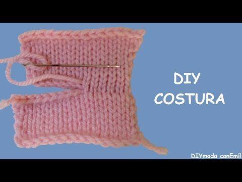 Cómo hacer costura invisible - YouTube | Bolsa para labores ...