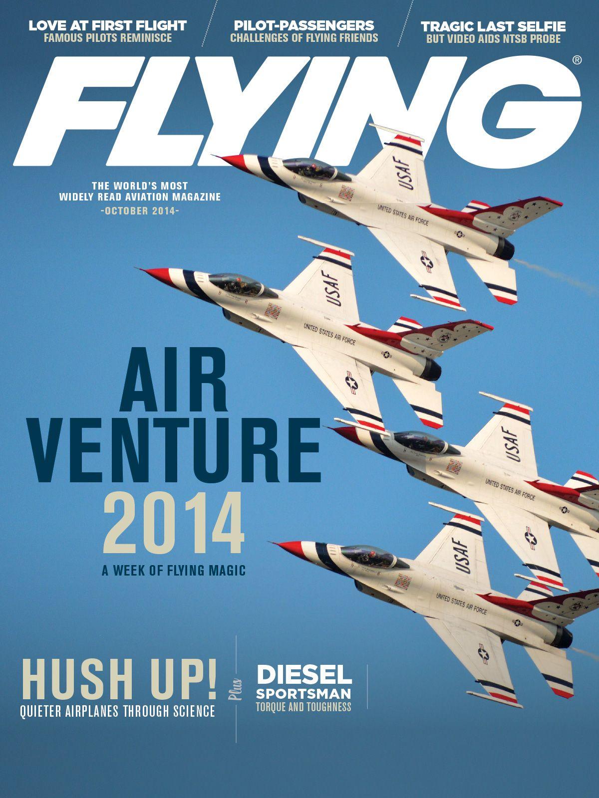 Flying Magazine October 2014 U.S. Air Force Thunderbirds