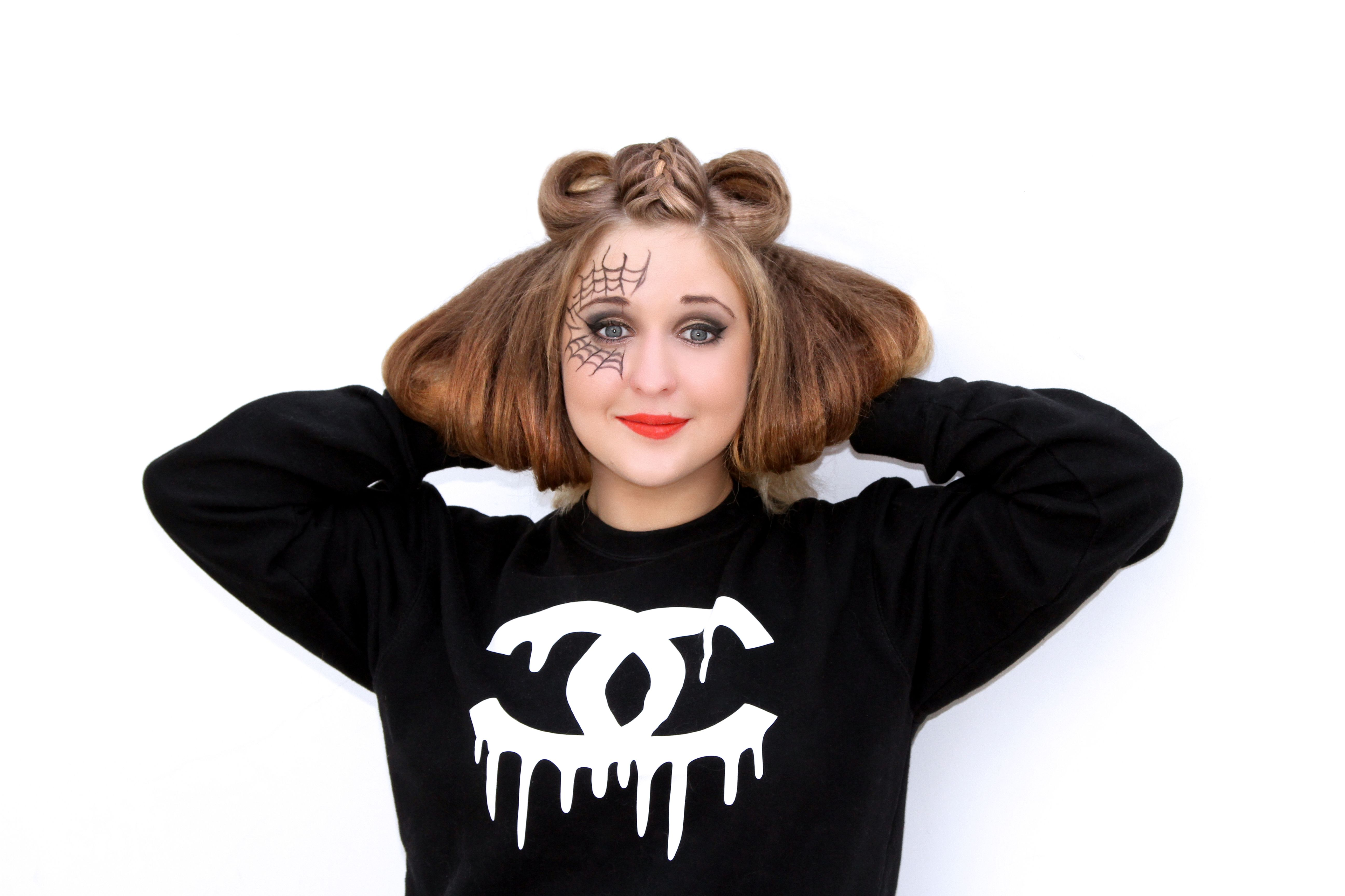 Avant Garde Hair. Halloween Hairstyle by #tatianahairextensions using hair extensions and hair pieces