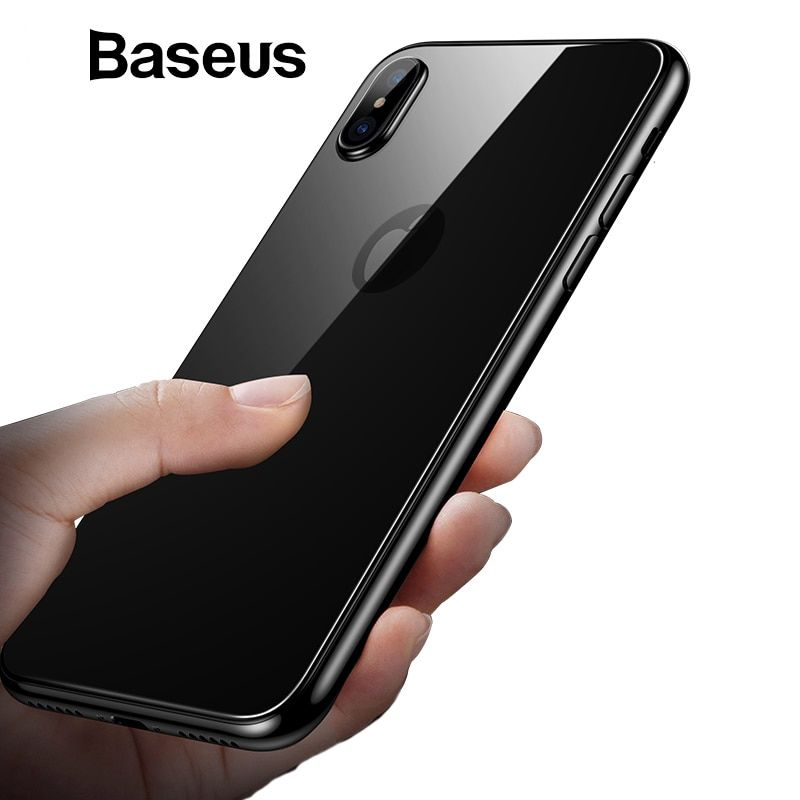 Baseus 03mm back protective glass for iphone xs max xr