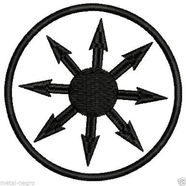 Chaos Magic Symbol Embroidered Patch Occultism Esoteric Sigil Witch