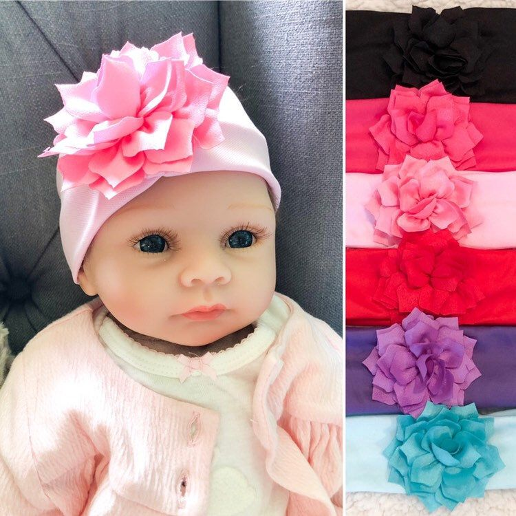 Baby girl flower headband infant toddler hair bow