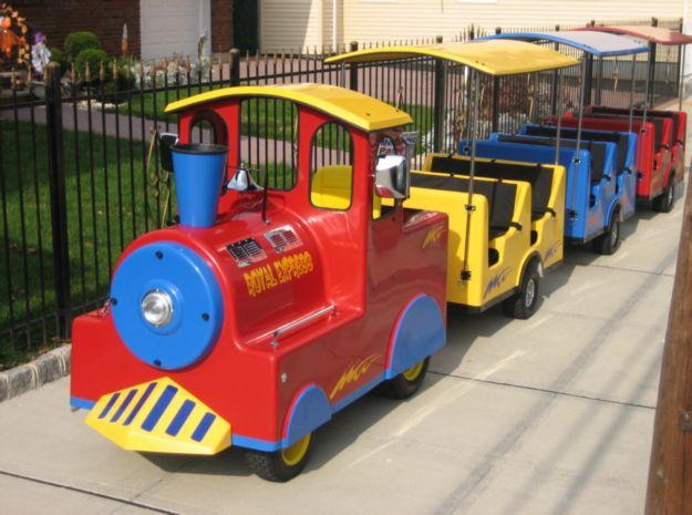Trackless Trains Party Rental For Children S Entertainment