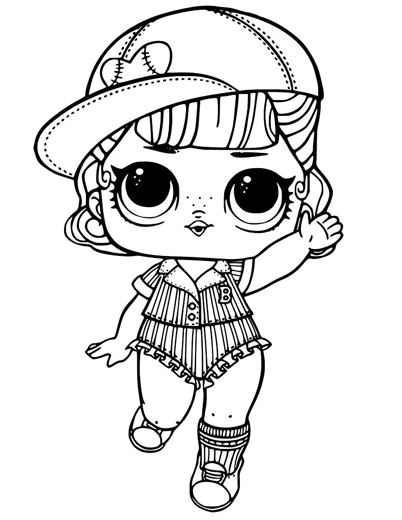 Lol Bebek Boyama Sayfalari En Guzel Lol Bebek Boyamalari Evimin Altin Topu In 2020 Unicorn Coloring Pages Lol Dolls Cute Coloring Pages