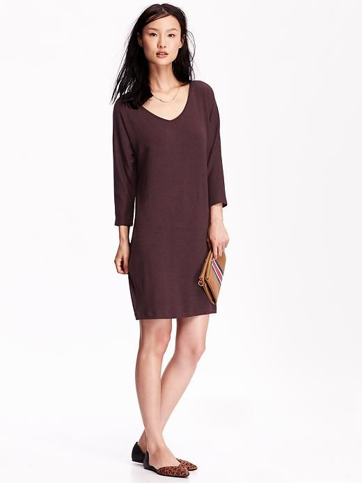 f2a3345bd5f Jersey Cocoon Dress..love this color