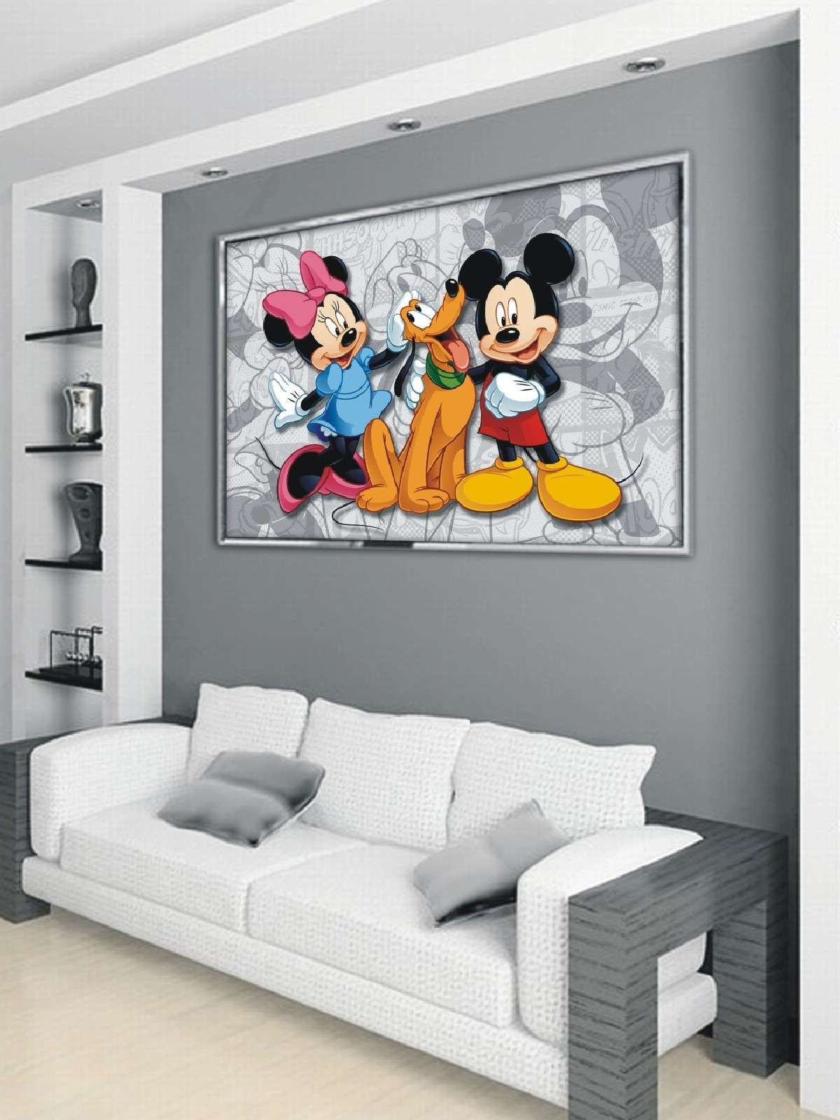 Comic Wall Room Images - Disney Mickey Mouse Comic Small