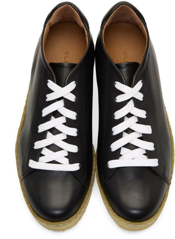 34ae7ff4479 Creeping Around In Your Crepe Soles  Robert Clergerie Leather Crepe Sole  Sneakers