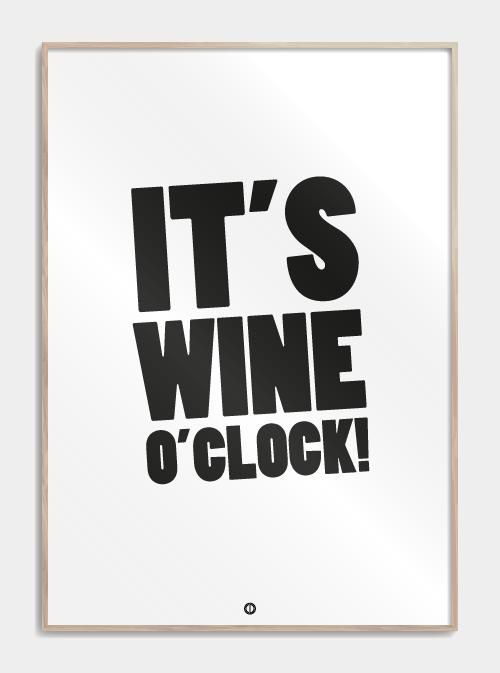 It S Wine O Clock I 2020 Plakater Tekster Citater