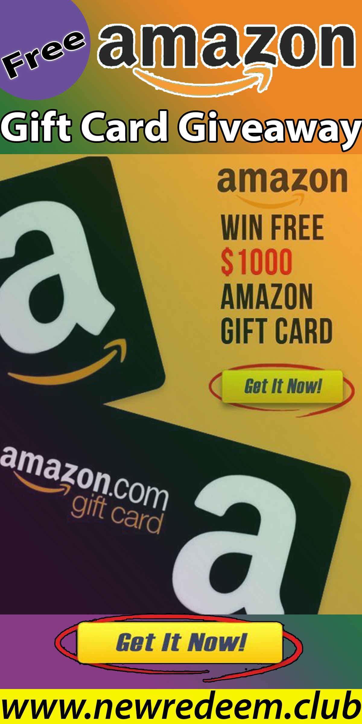 Amazon gift card giveaway in 2020 amazon gift cards