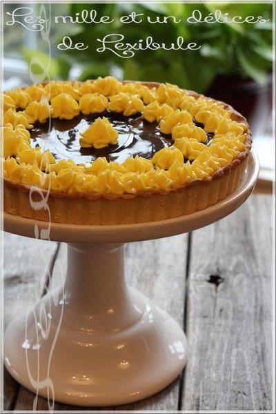 les milles & un délices de ~lexibule~: ~Tarte au citron et au chocolat~