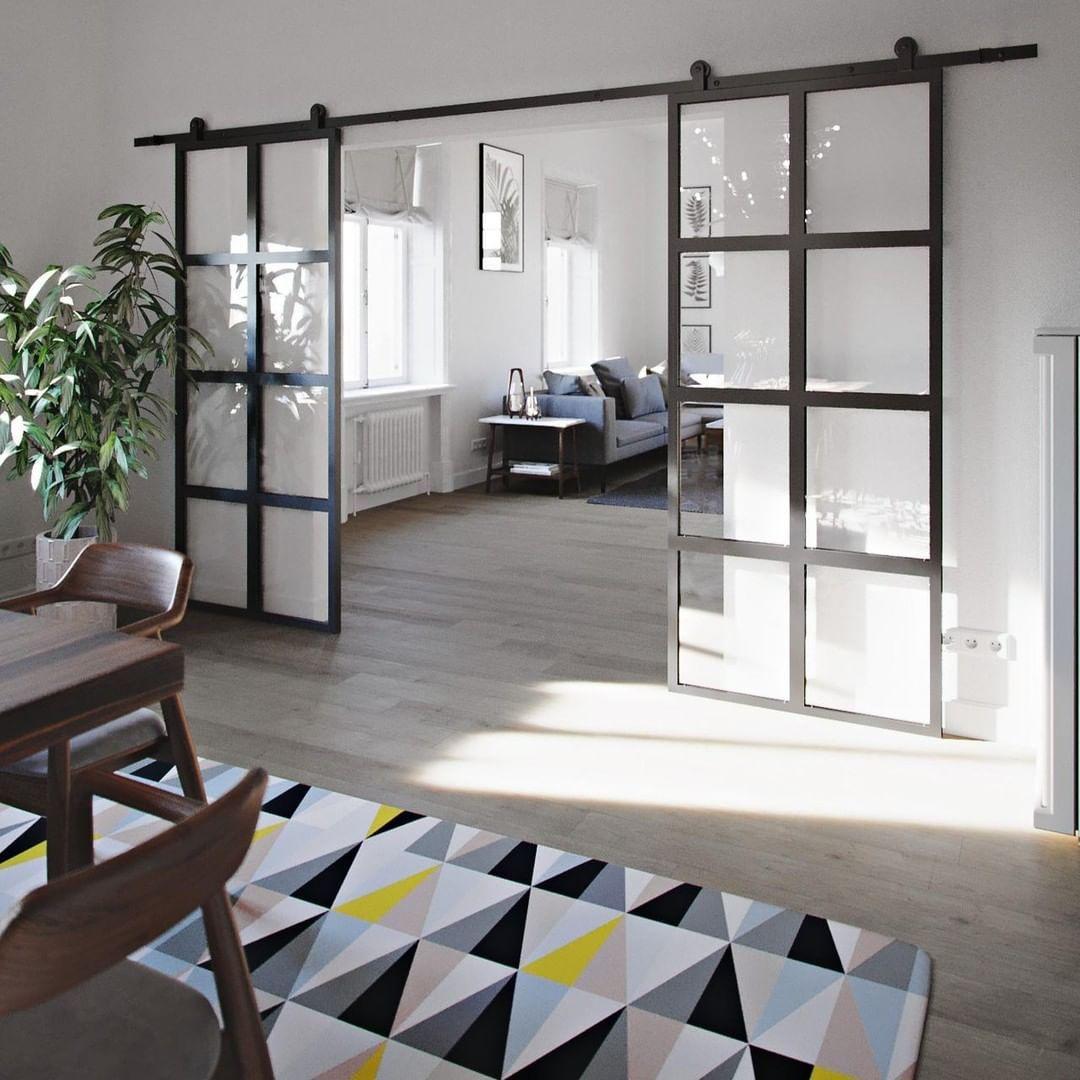 Reno Drzwi Przesuwne On Instagram Kto Chcialby Miec W Swoich Wnetrzach Drzwi Przesuwne Ze Szklem Jadalnia Kuchnia Des Home Repairs Home Deco Home
