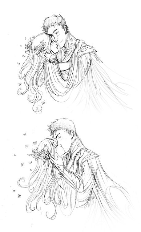 I Really Love Your Drawings Of Hades And Persephone D Is