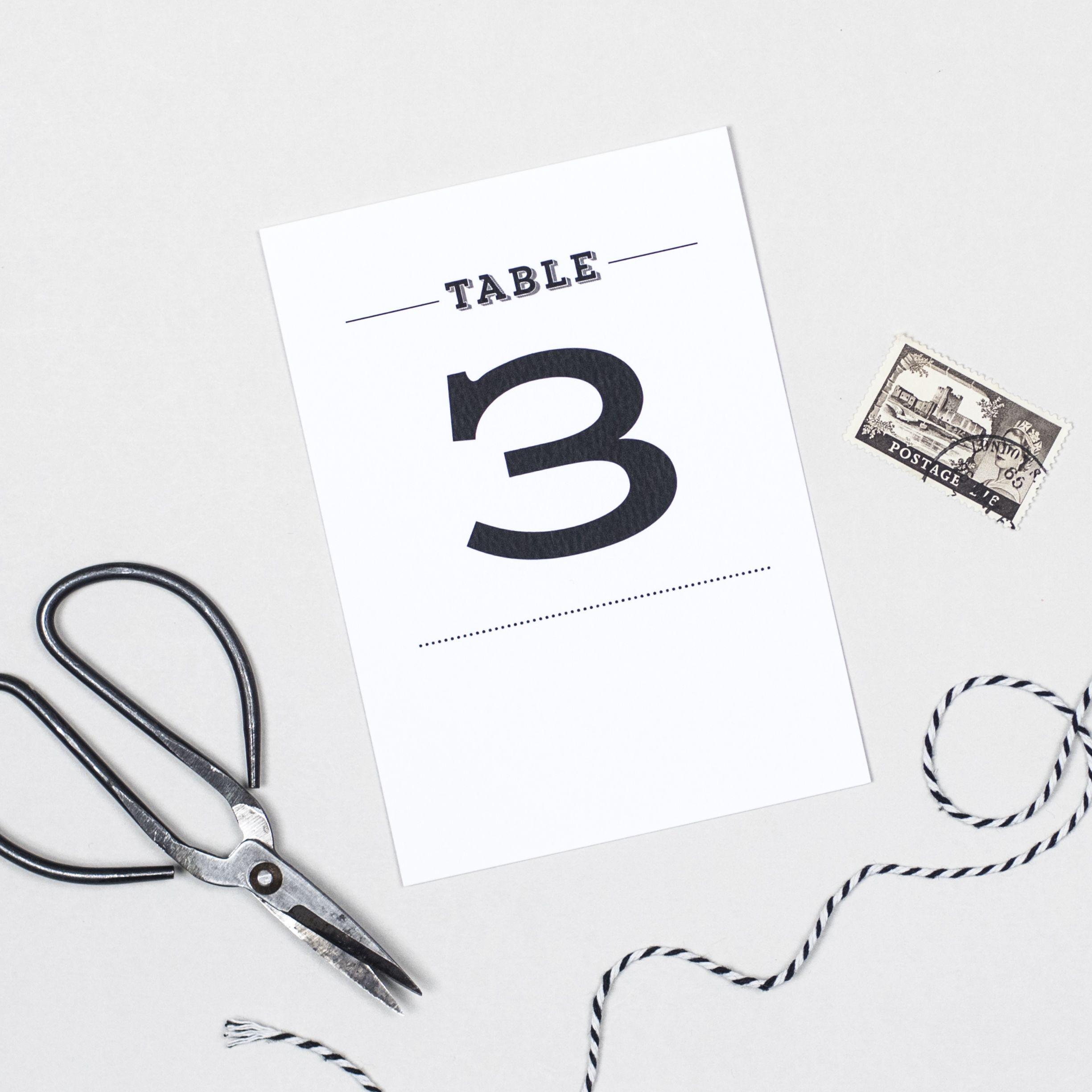 Frankie Vintage Table Numbers Vintage Table Numbers Table Numbers