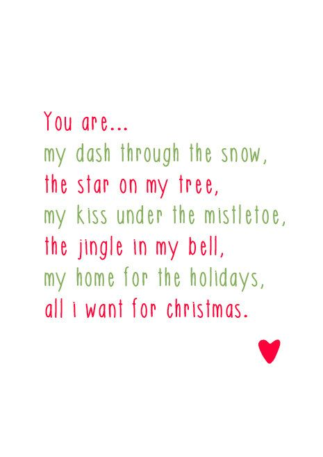 All I Want For Christmas Is You Christmas Love Quotes Christmas Quotes Merry Christmas Quotes