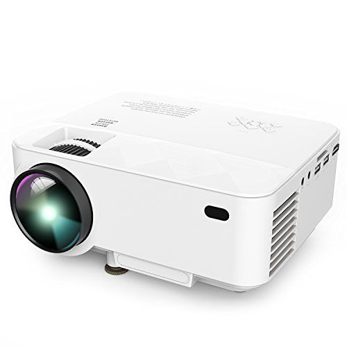 Dbpower T20 1500 Lumens Lcd Mini Projector Multimedia Home Theater Video Projector Support 1080p Hdmi Usb Smartphone Projector Video Projector Mini Projectors