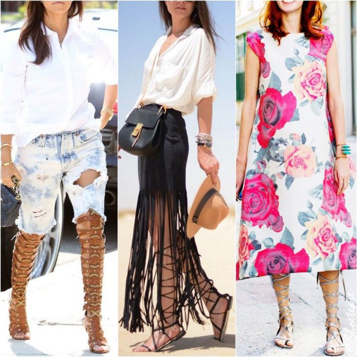 How to Wear Gladiator Sandals this Summer | Sandals and Summer