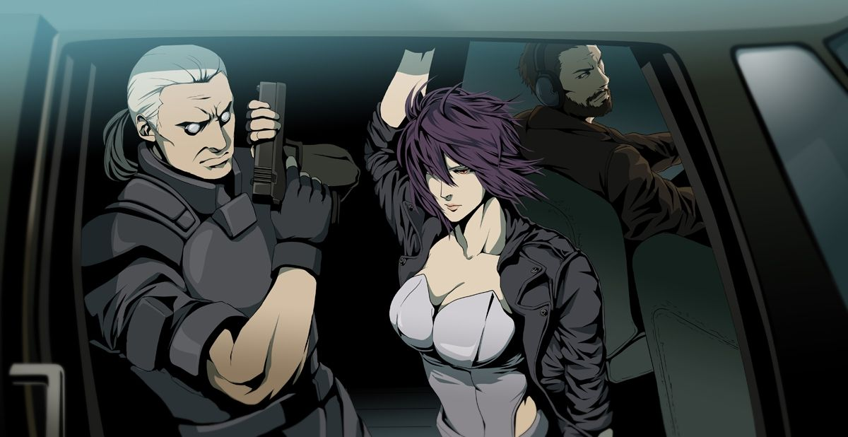 Batou Kusanagi And Ishikawa Ghost In The Shell Ghost Motoko Kusanagi