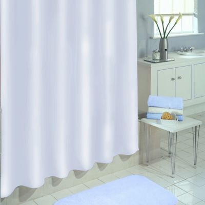 Excell Best Quality Peva Xl Shower Curtain Liner White White