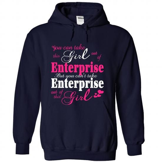 You Can Take The Girl Out Of Enterprise-Usa - #gifts for boyfriend #unique gift. GET IT => https://www.sunfrog.com/States/You-Can-Take-The-Girl-Out-Of-Enterprise-Usa-5188-NavyBlue-Hoodie.html?68278