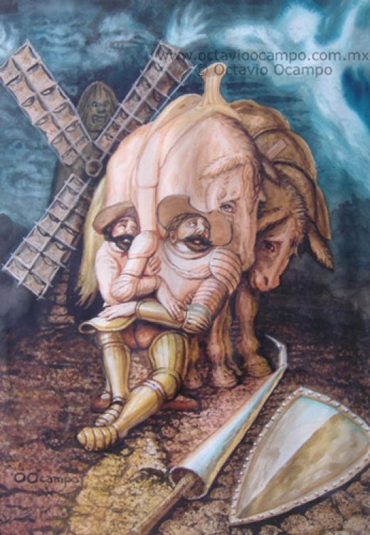 Art Surrealism Octavio Ocampo Picture | Optische Täuschung ...