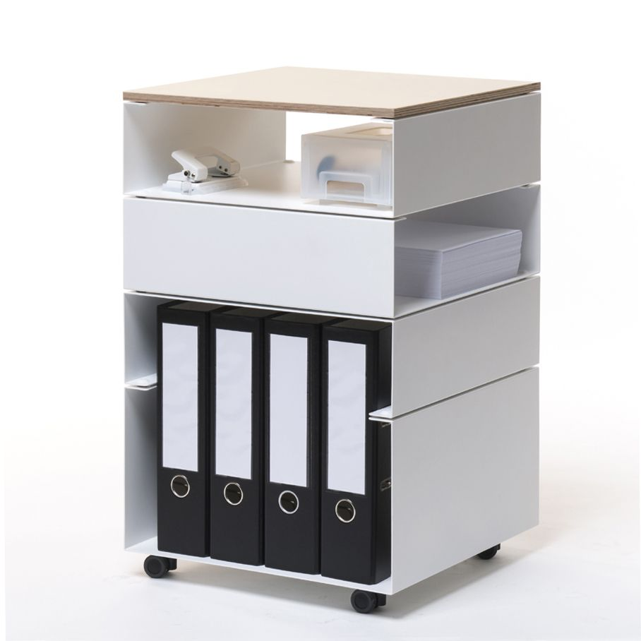 00 Rollcontainer Schreibtisch Container Regal BOTA