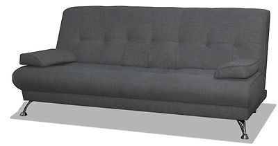 #Venice #italian sofa bed - grey #fabric,  View more on the LINK: 	http://www.zeppy.io/product/gb/2/112207652790/
