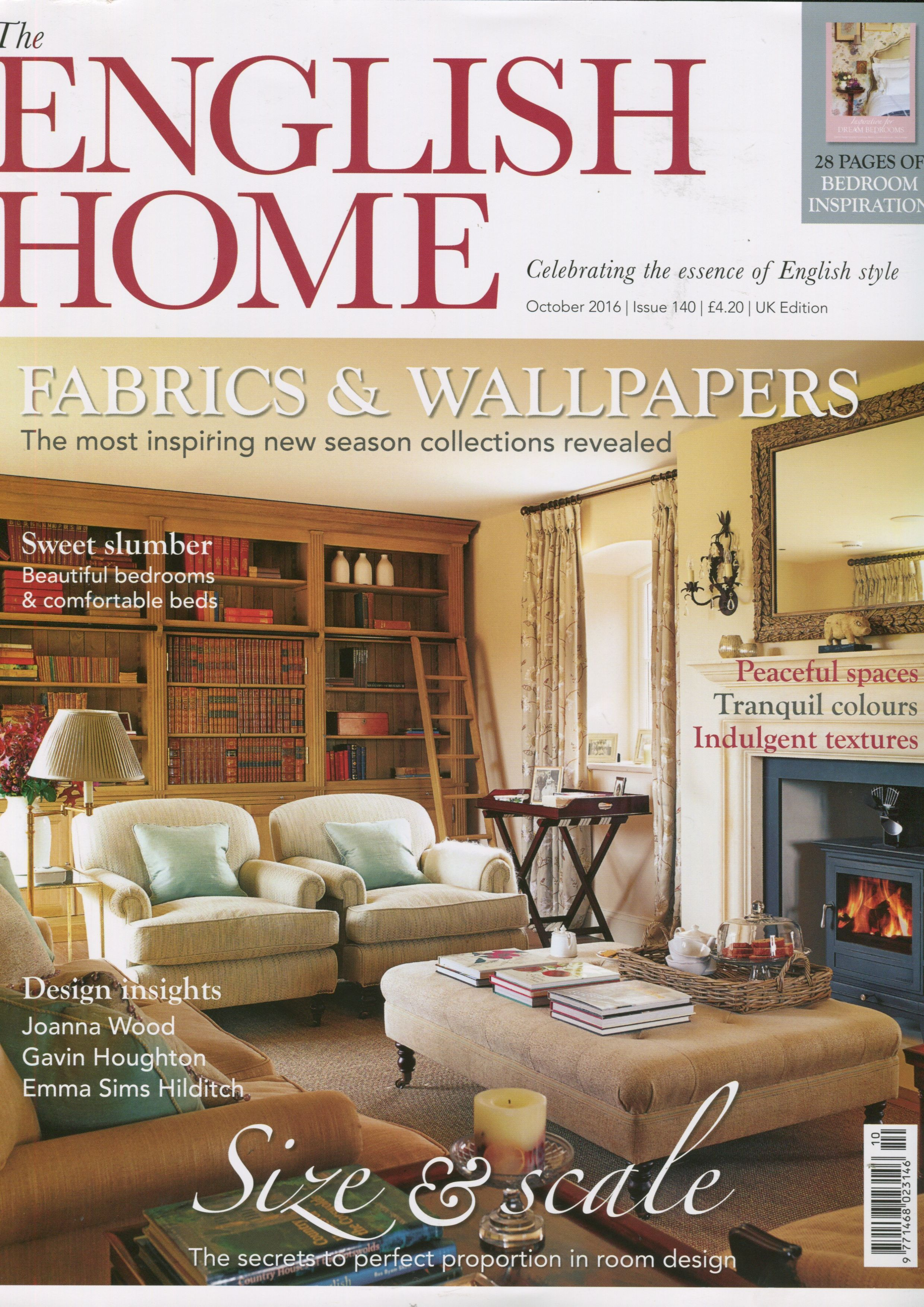 Lovely Article About Emily Burningham In The English Home Magazine October 2016