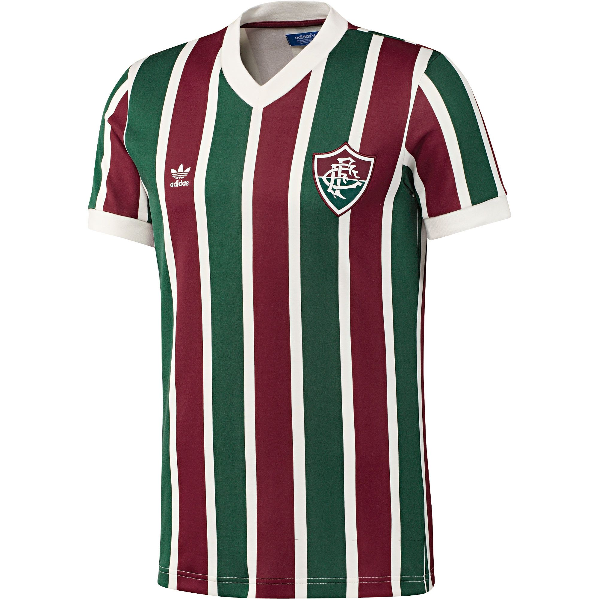 adidas Originals Retro Fluminense FC Football Shirt  e7335585f3983