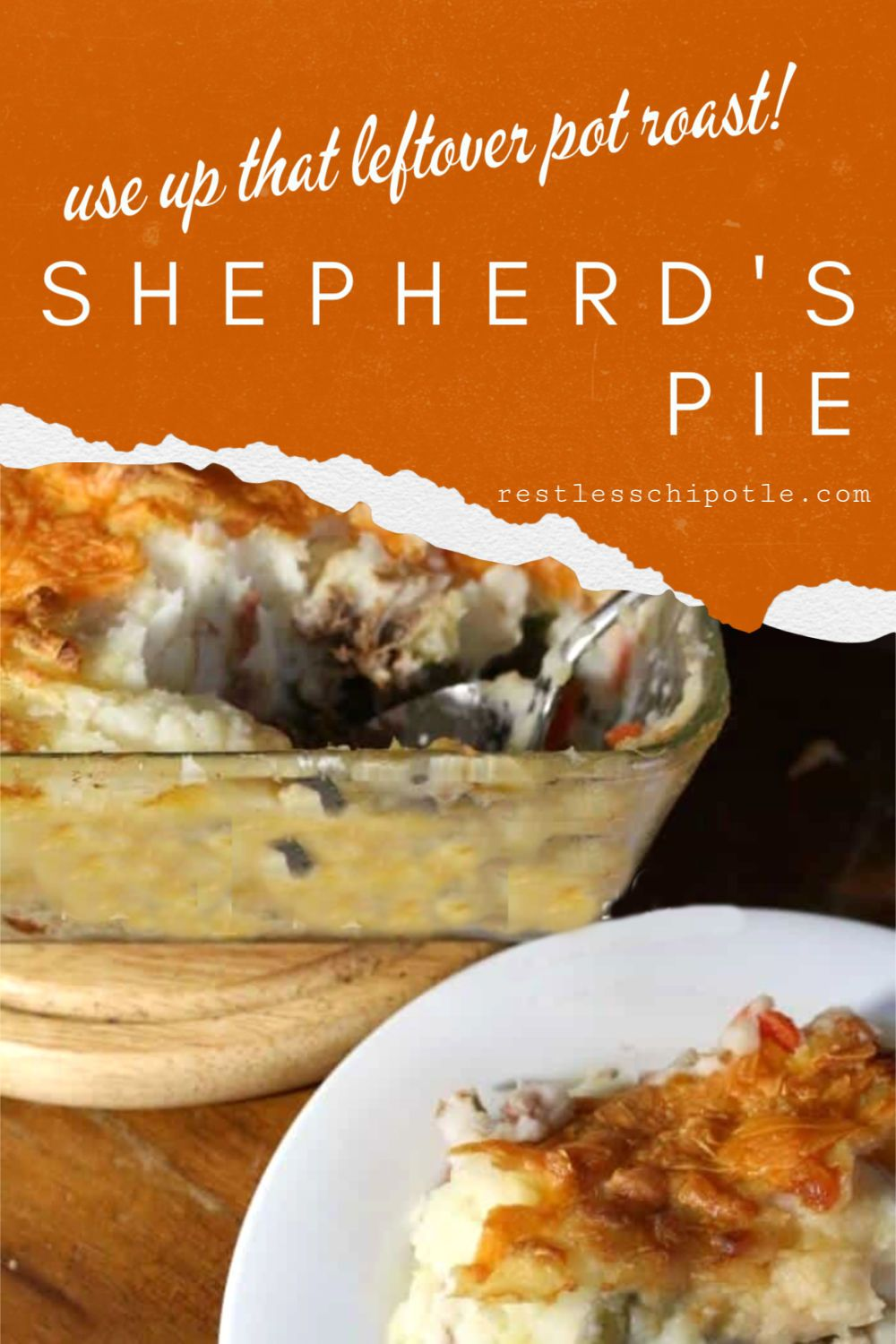 Easy Shepherd S Pie With Leftover Pot Roast Recipe Favorite Casserole Recipes Easy Family Meals Shepherds Pie Recipe Easy