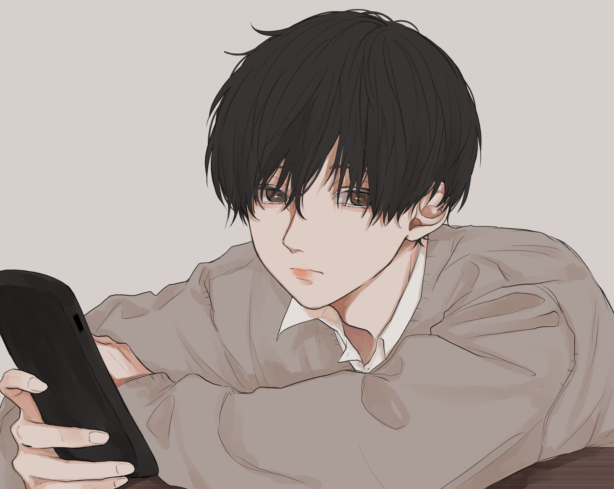 Anime Boys おしゃれまとめの人気アイデア Pinterest Hana Okumura イラスト マッシュ イラスト イケメン イラスト フリー