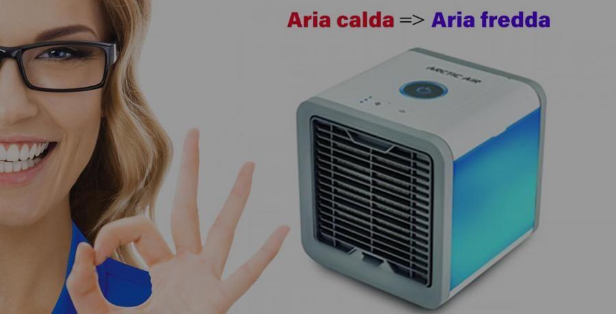 Artic Cube Piccolo Condizionatore Efficace Per La Tua Calda Estate Artic Cube E Un Piccolo Climatizzatore Portatile Che Permet Ventilatori Serbatoio Piccolo
