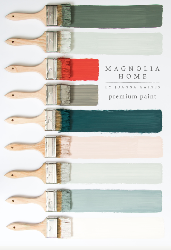 Magnolia Home Paint Colors Joanna Gaines Fixer Upper