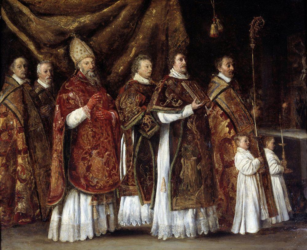 Cours de Histoire-géographie - L'Église et son clergé - Maxicours.com