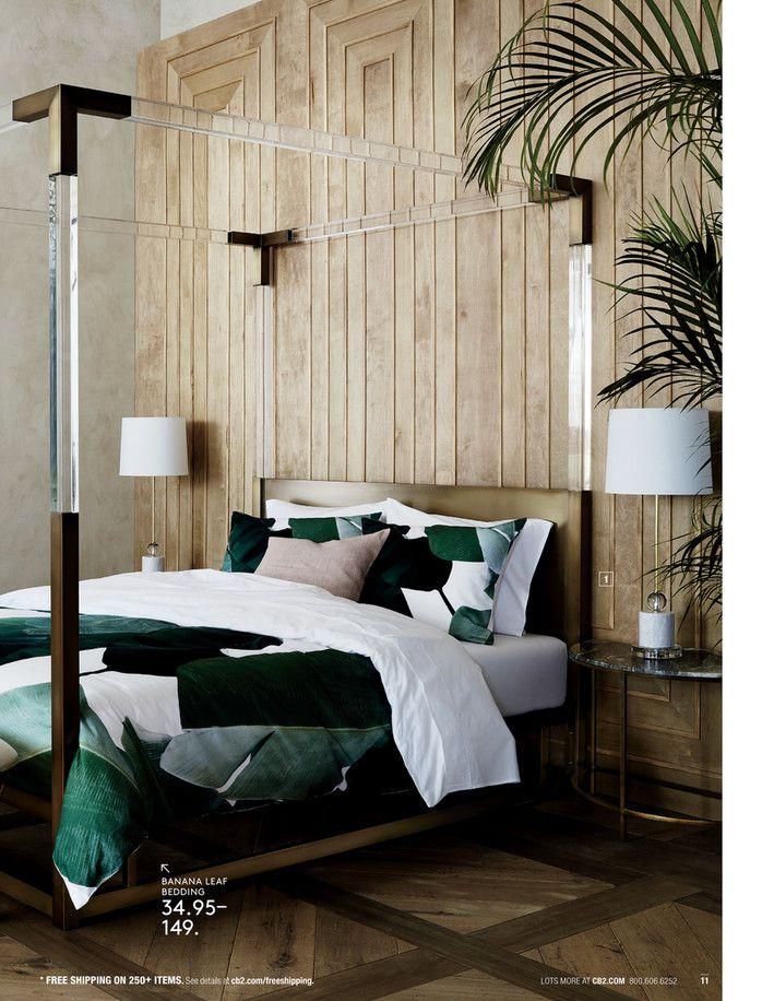 CB2 March Catalog 2018 Page 1011 Bedroom designs