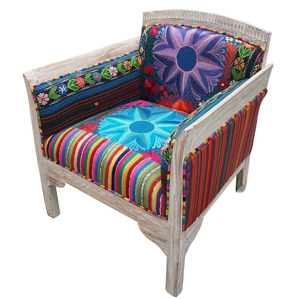 Patchwork Armchair (With images) | Patchwork armchair ...