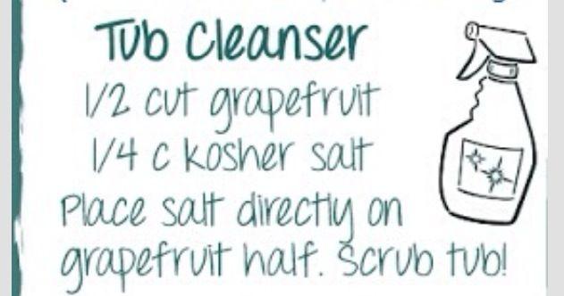 Natural Tub Cleaner