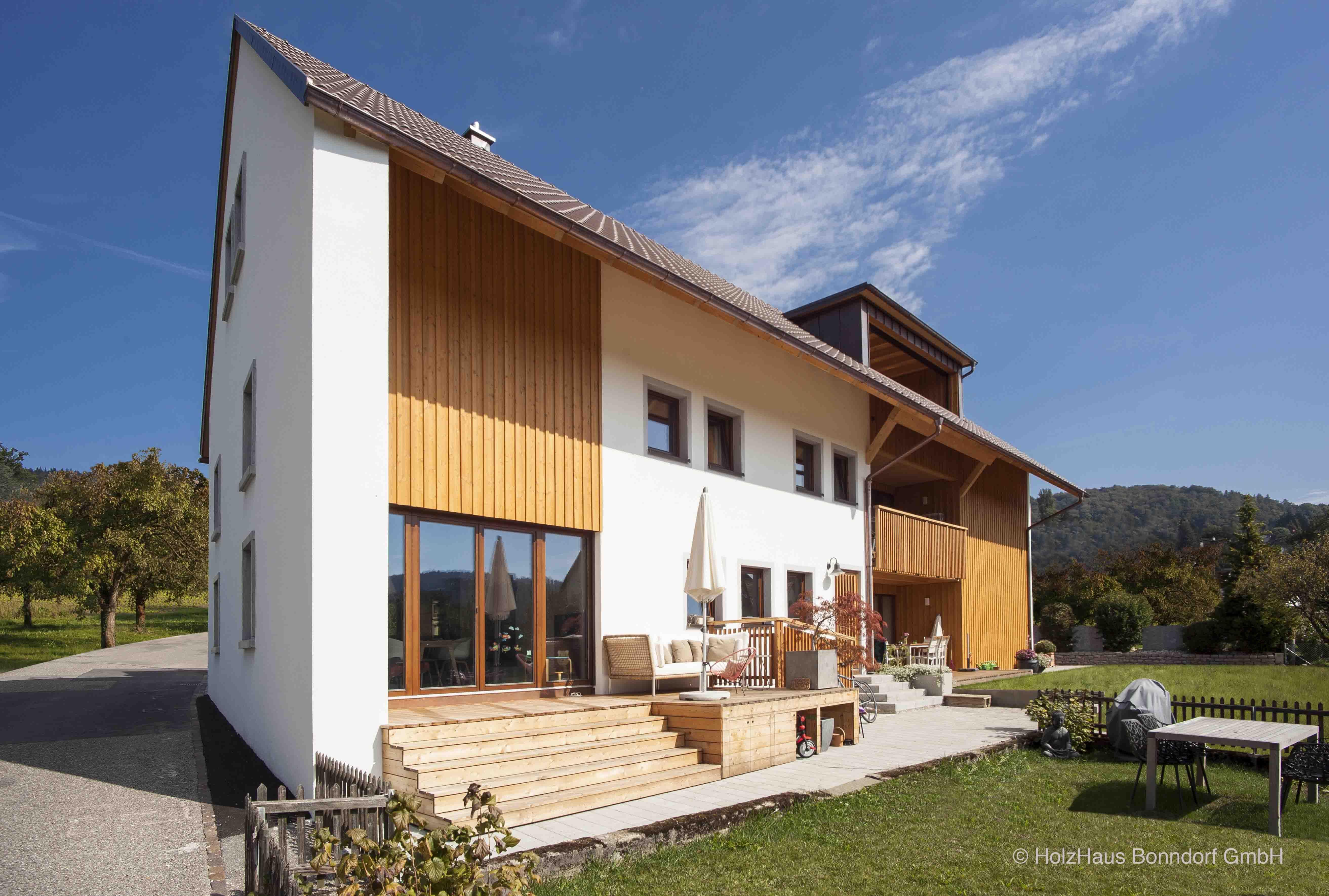 Holzhaus Bonndorf wohnhaus in der schweiz ausführung holzhaus bonndorf gmbh entwurf