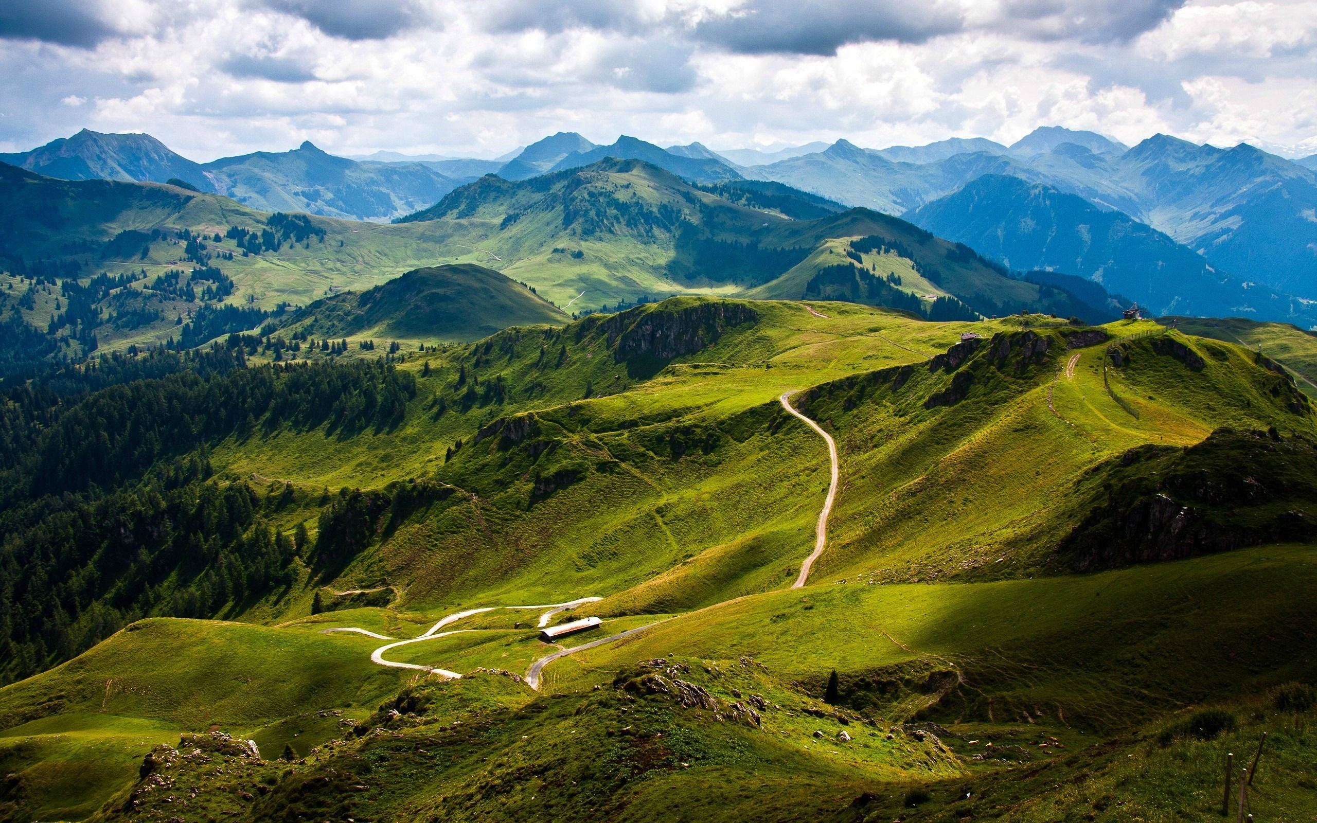 Landscape Mountain High Resolution