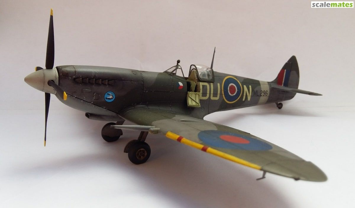Spitfire Mk Ixc Late Version Scale Model Kits Scale Models Plastic Models