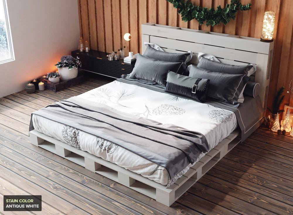 The Queen Pallet Bed Bed Kidsbedcanopy