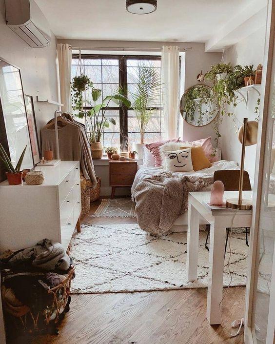 33 COZY DORM ROOM DECOR IDEAS #dormroomideas